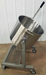 80 Quart (160 lbs) Large Production Pot Tipper (Model PT80)