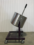 80 Quart/20 Gallon (160 lbs) Large Production Pot Tipper (Model 80PT)