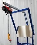 Pneumatic Soap Cutter Easy Hoist System (Model ACHosit)